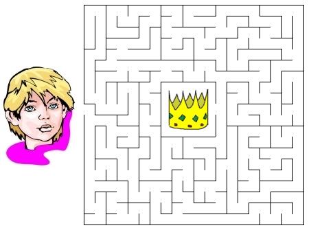 BibleSchoolResources Net: King Joash - Maze