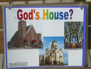 net free building up gods house vbs materials